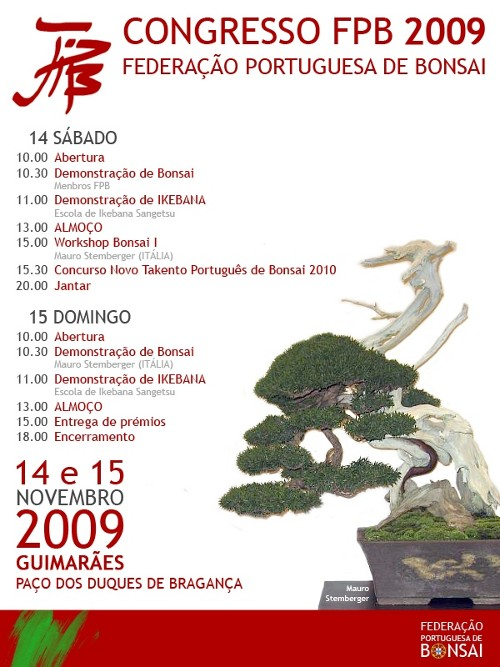 Congresso Nacional Federaçao Portuguesa de Bonsai