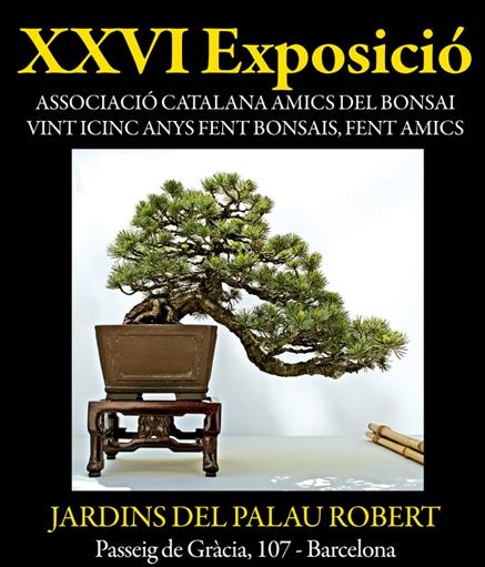 Exposicio Associacio Catalana Amics del Bonsai