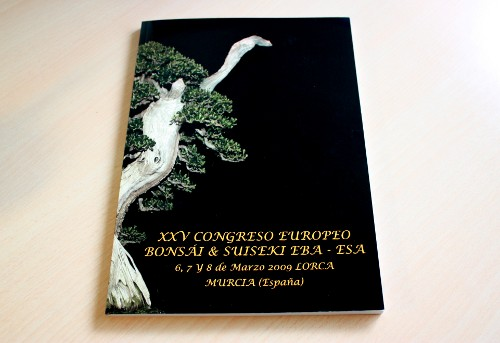 Libro Congreso Bonsai Lorca 2009